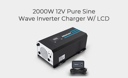 2000W Pure Sine Wave Inverter Battery Charger